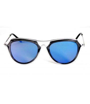 Óculos de Sol Aviador Drop mE Flat Acetato e Metal Azul 4d1414f209