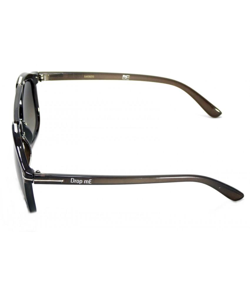 Óculos de Sol Aviador Drop mE Acetato Premium Cinza Gradiente - Drop mE a91b01b46e