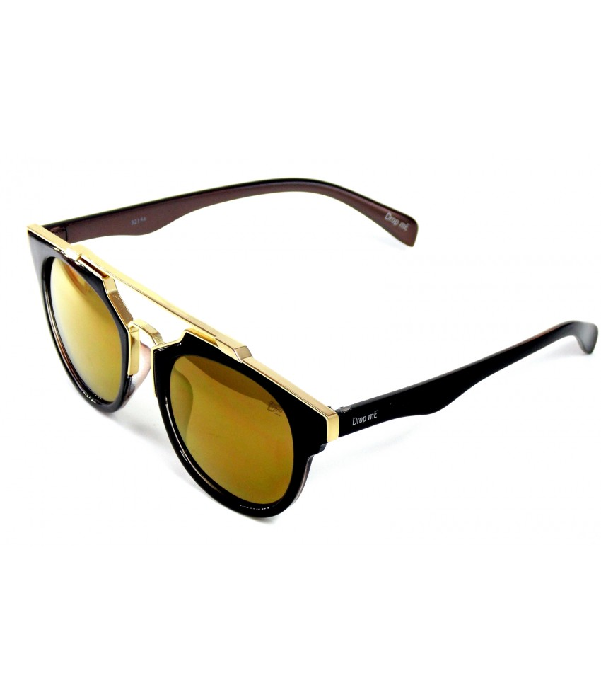 Óculos de Sol Redondo Drop mE Premium Lentes Bronze - Drop mE 2468c47919