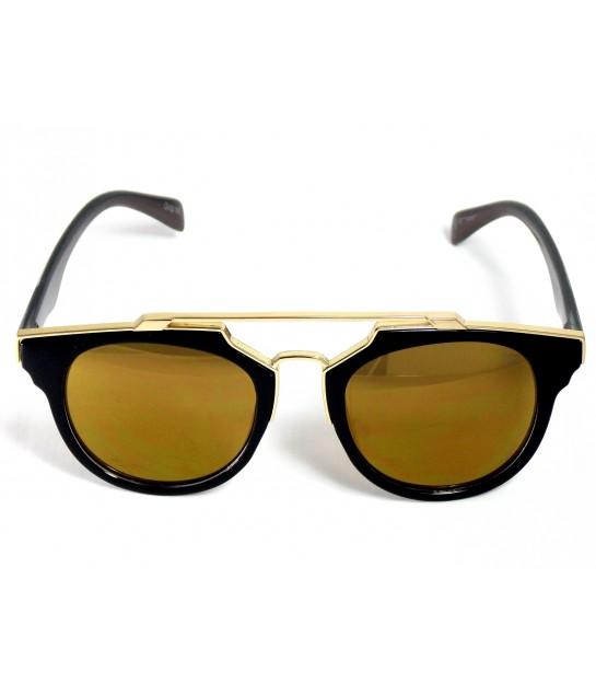 4dec5c74d Óculos de Sol Redondo Drop mE Premium Lentes Bronze - Drop mE