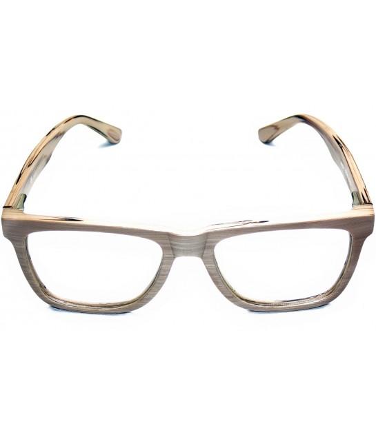 Armação Óculos de Grau Drop mE Acetato TR90 Wood Hastes Flex 169bba0a5d