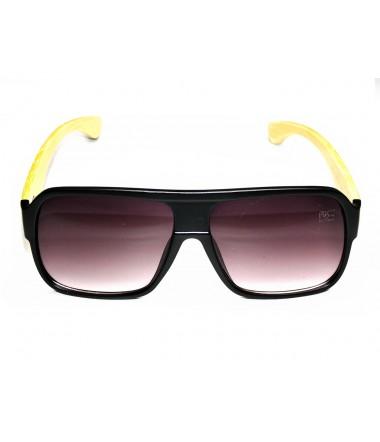931bf4e0871f7 Óculos de Sol Quadrado Drop mE Flat Top Bambu