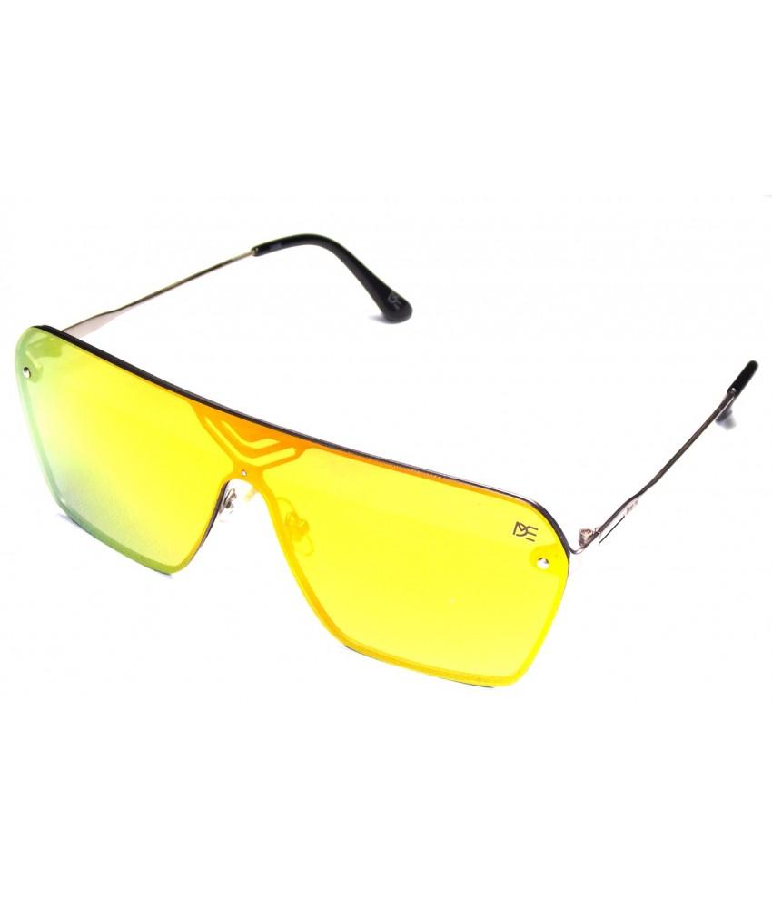 7a2880e0814a3 ... Óculos de Sol Quadrado Drop mE Lente Única Dual Color ...