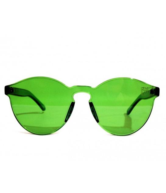Óculos de Sol Redondo Drop mE Translucido Glass Verde - Drop mE 24d40cd659