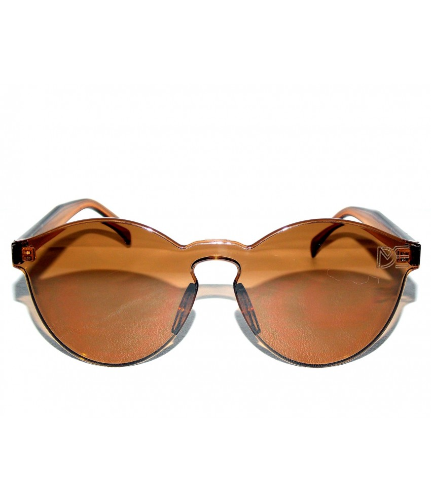 ... Óculos de Sol Redondo Drop mE Translucido Glass Âmbar ... 130e5f0f79