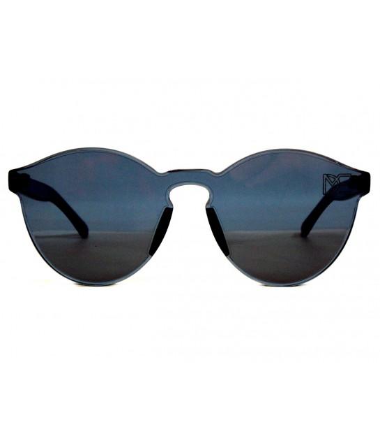 5453acec3e59a Oculos de Sol Redondo Drop mE Translucido Glass Preto