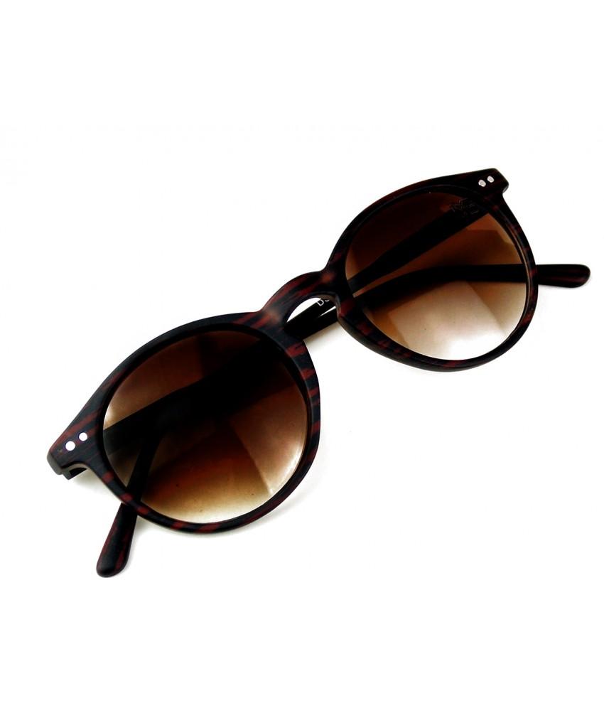 25a04be8a Óculos de Sol Redondo Drop mE Ébano Marrom - Drop mE