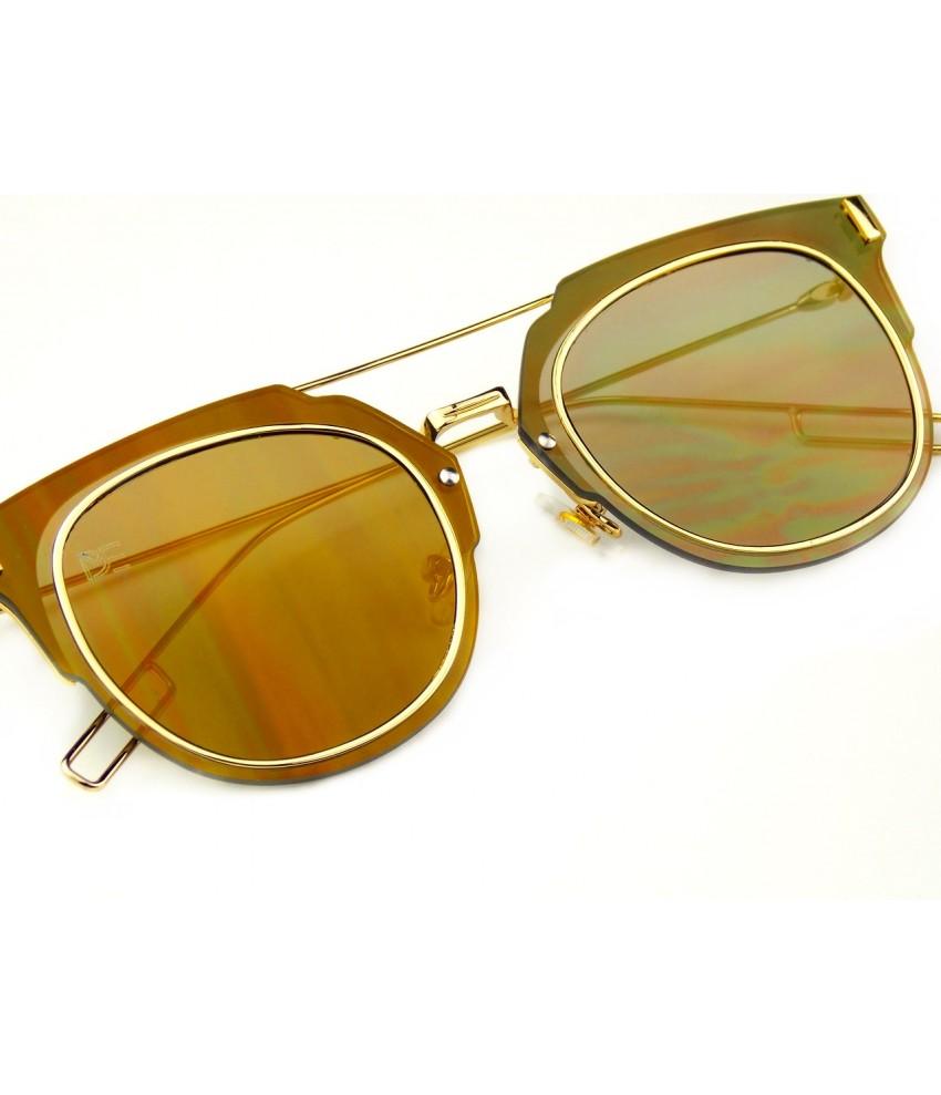 0ddb211be ... Oculos de Sol Drop mE Clubmaster Flat Espelhado Azul ...