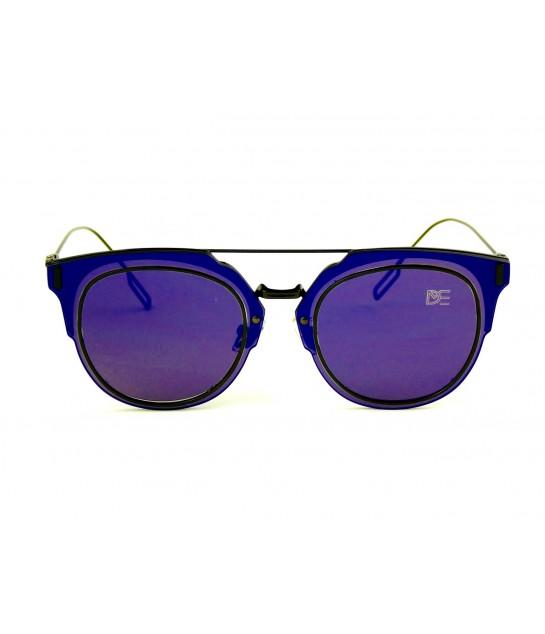 e5cff81ba Oculos de Sol Drop mE Clubmaster Flat Espelhado Azul - Drop mE