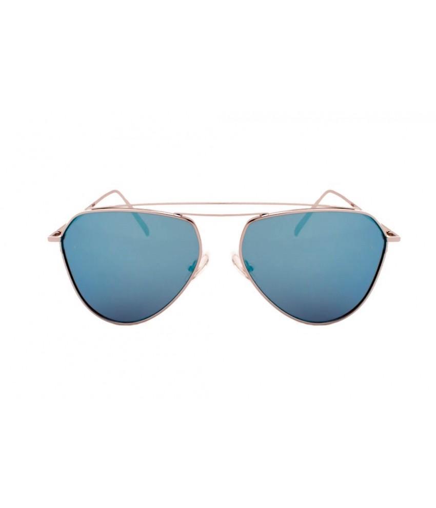 5a3cf9e95 óculos De Sol Transparente E Azul Brilho Azul Espelhado – Southern ...